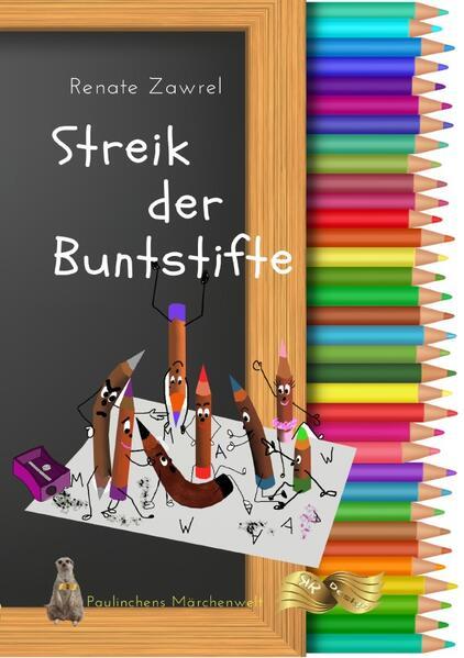 Streik der Buntstifte als Buch (kartoniert)