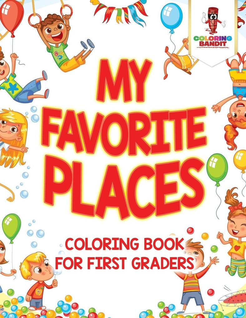 My Favorite Places als Taschenbuch von Coloring...