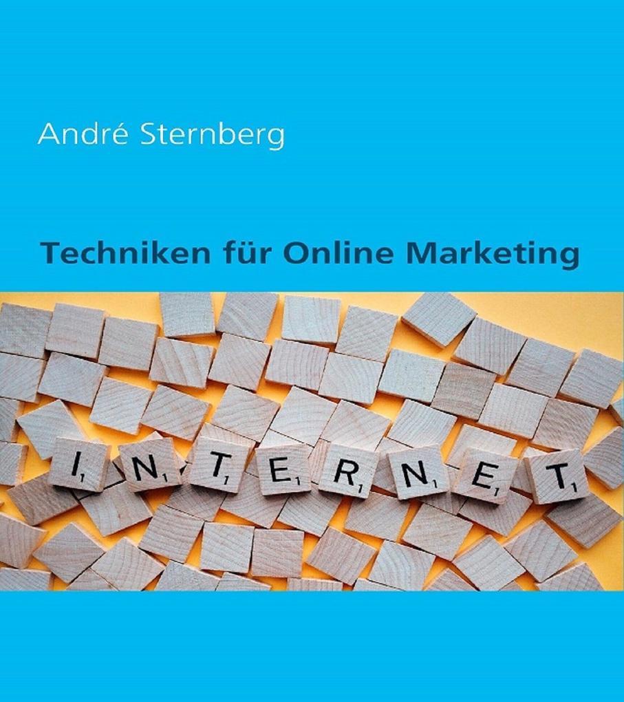 Techniken für Online Marketing als eBook epub
