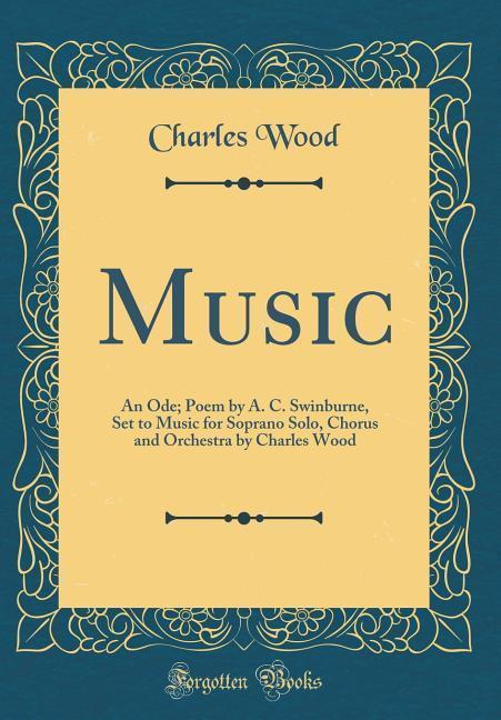 Music als Buch von Charles Wood