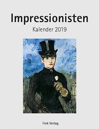 Impressionisten 2019. Kunstkarten-Einsteckkalender