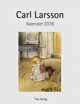Carl Larsson 2019. Kunstkarten-Einsteckkalender