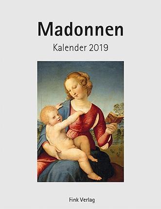 Madonnen 2019 Kunst-Einsteckkalender