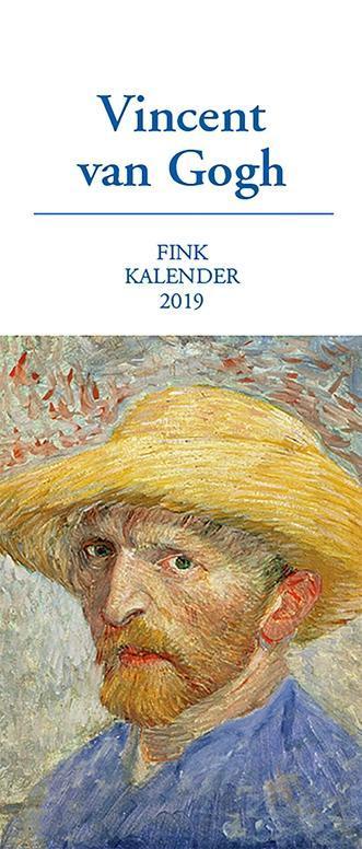 Vincent van Gogh Kunst-Postkartenkalender 2019
