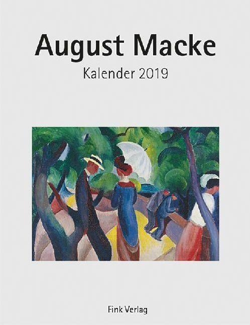 August Macke 2019. Kunstkarten-Einsteckkalender