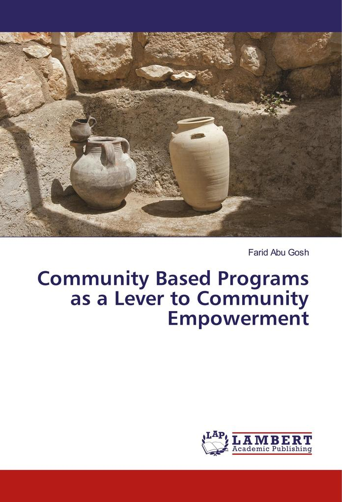Community Based Programs as a Lever to Communit...