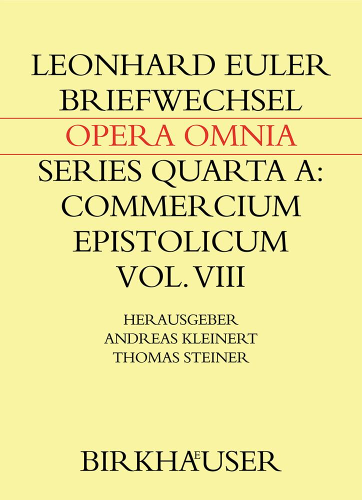 Briefwechsel von Leonhard Euler mit Johann Andreas von Segner und anderen Gelehrten aus Halle als Buch