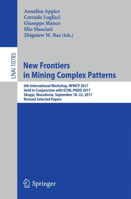 New Frontiers in Mining Complex Patterns als Bu...