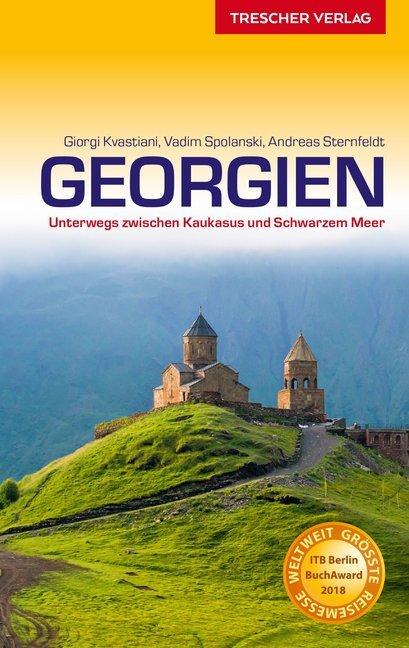 Reiseführer Georgien als Buch von Giorgi Kvasti...