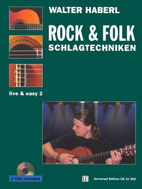 Gitarre live and easy 2. Rock und Folk Schlagte...