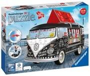 Ravensburger Puzzle - 3D Puzzle - Volkswagen T1 - Food Truck, 162 Teile