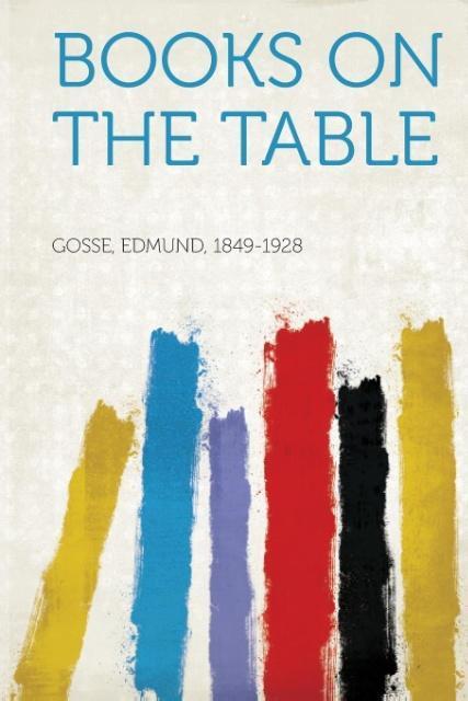 Books on the Table als Taschenbuch von Edmund G...