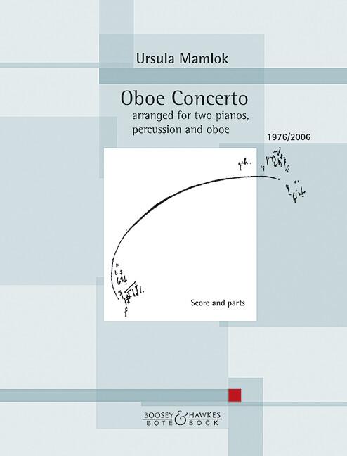 Oboe Concerto als Buch von Ursula Mamlok