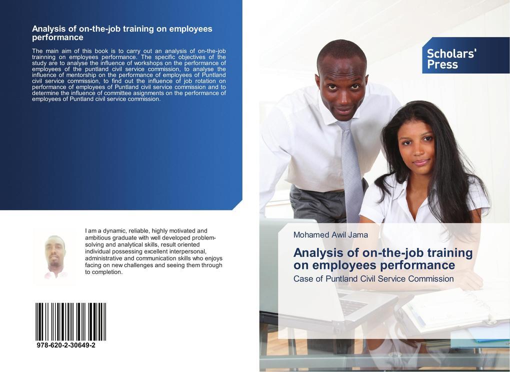 Analysis of on-the-job training on employees pe...