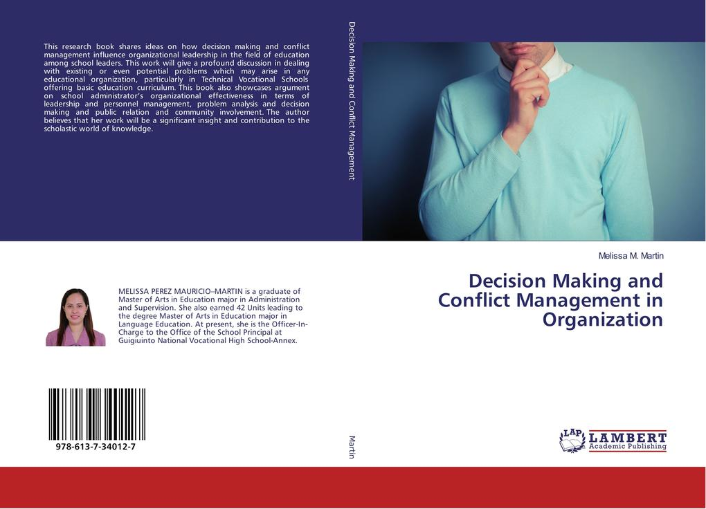Decision Making and Conflict Management in Orga...