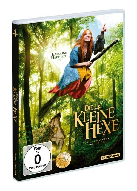 Die kleine Hexe als DVD