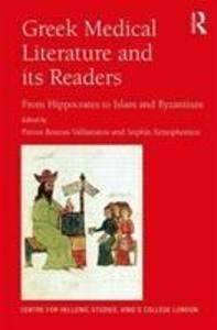Greek Medical Literature and its Readers als Buch (gebunden)