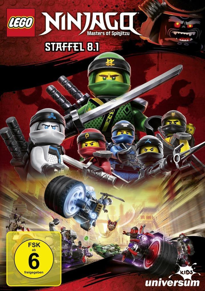 LEGO Ninjago Staffel 8.1 als DVD