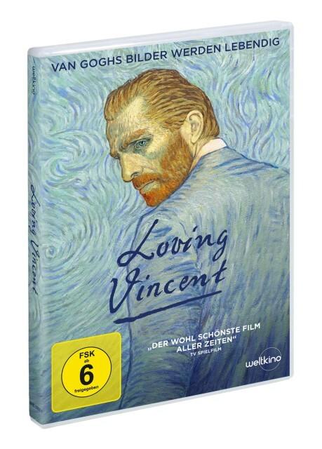 Loving Vincent als DVD