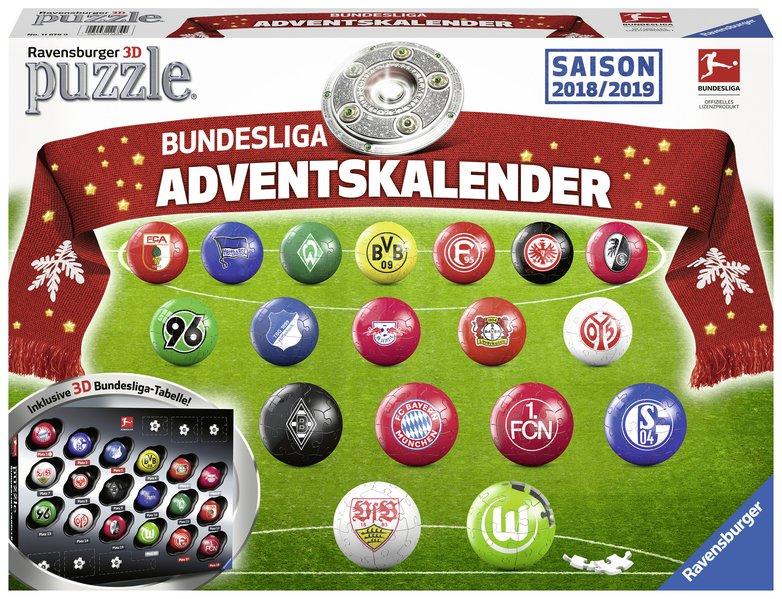 Adventskalender Bundesliga 2018/2019 als sonstige Artikel
