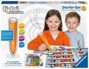 """tiptoi® Starter-Set: Stift und Buchstaben-Spiel """"Schatzsuche in der Buchstabenburg"""""""