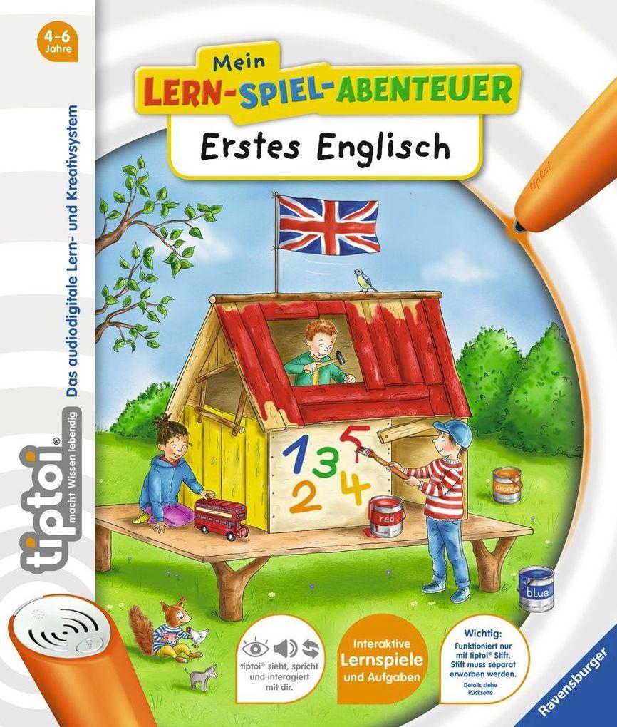 tiptoi® Erstes Englisch als Buch (gebunden)