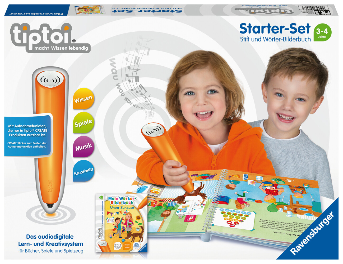 tiptoi® Starter-Set Mein Wörter-Bilderbuch Unser Zuhause als sonstige Artikel