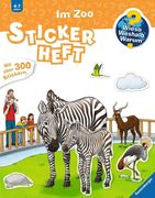 Stickerheft Im Zoo