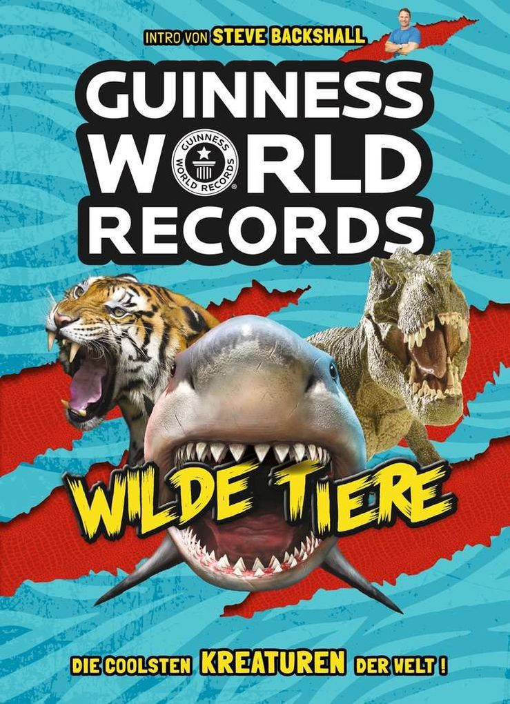 Guinness World Records Wilde Tiere als Mängelexemplar