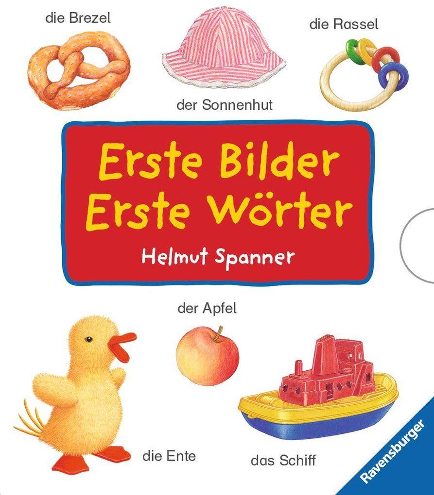 Erste Bilder - Erste Wörter (4 Titel im Schuber) als Buch