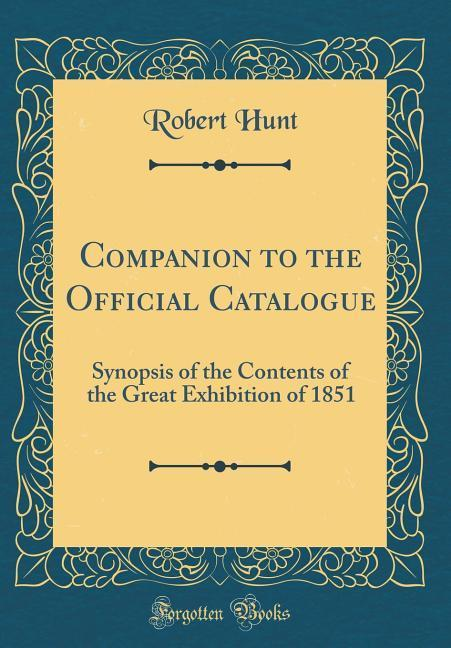 Companion to the Official Catalogue als Buch vo...