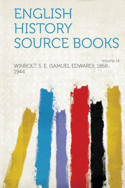 English History Source Books Volume 14 als Tasc...