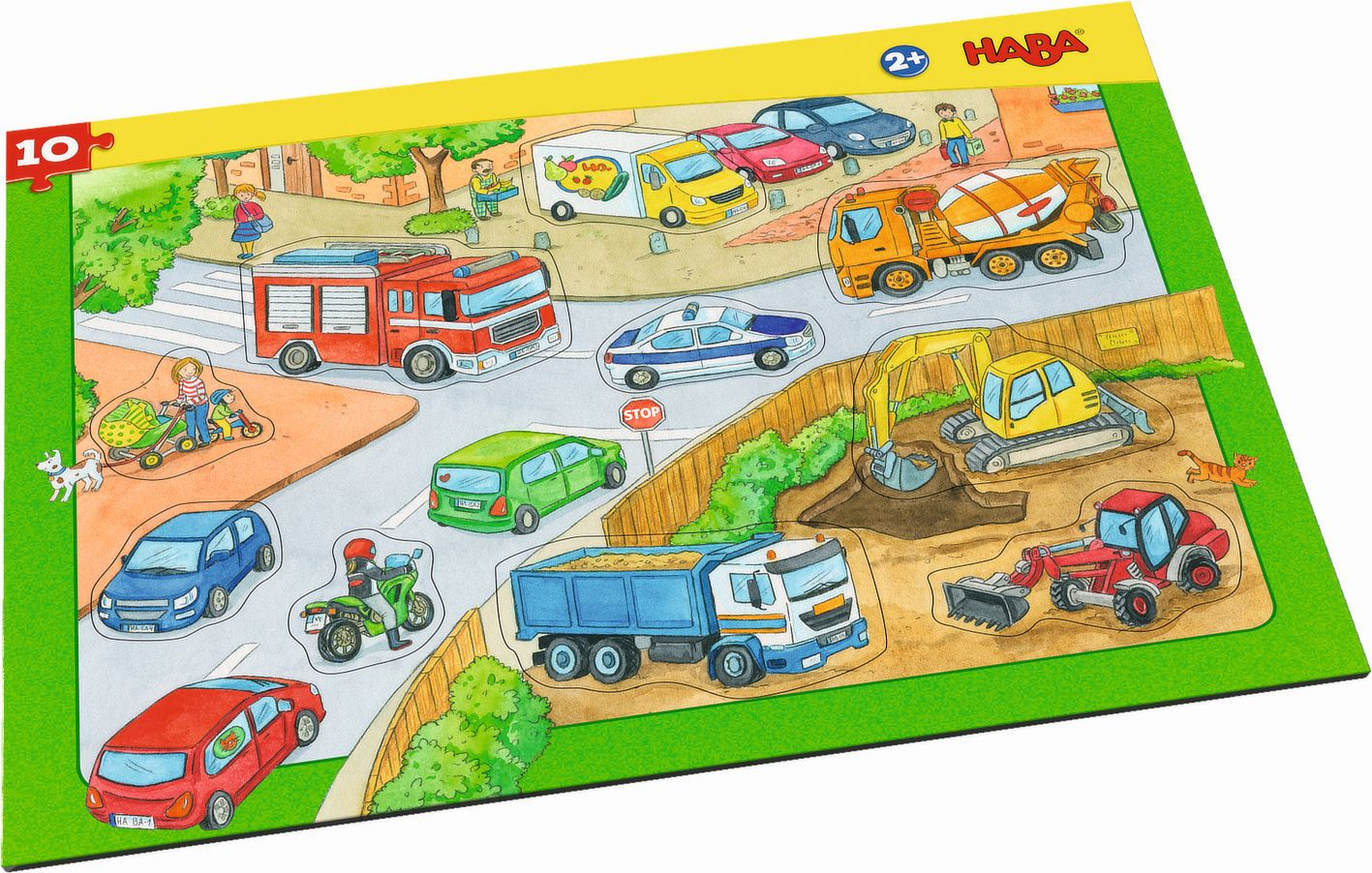 Rahmenpuzzle Fahrzeuge als sonstige Artikel