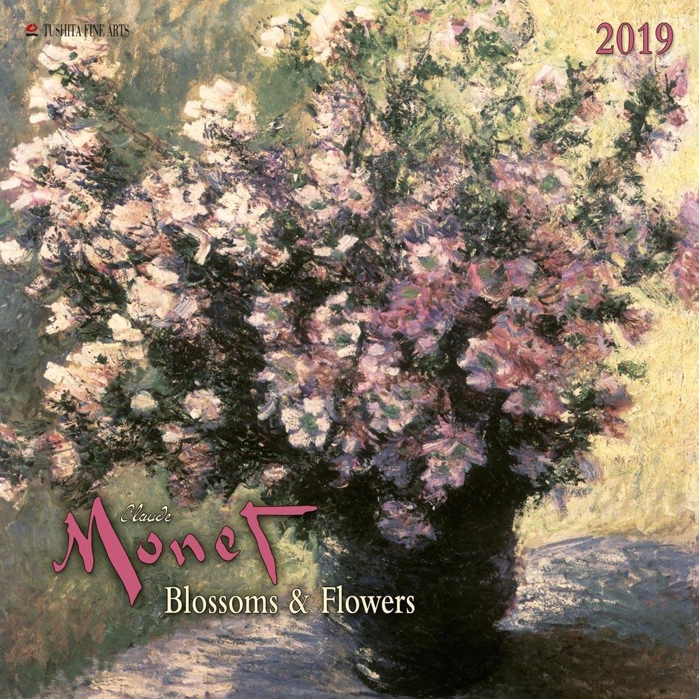 Claude Monet - Blossoms & Flowers 2019