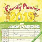 Familienplaner 2019 Broschürenkalender
