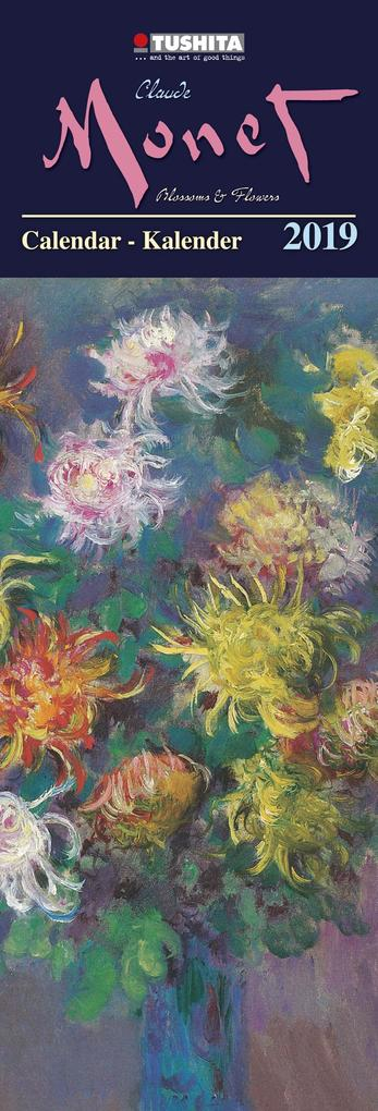 Claude Monet - Blossoms and Flowers 2019 Slim L...