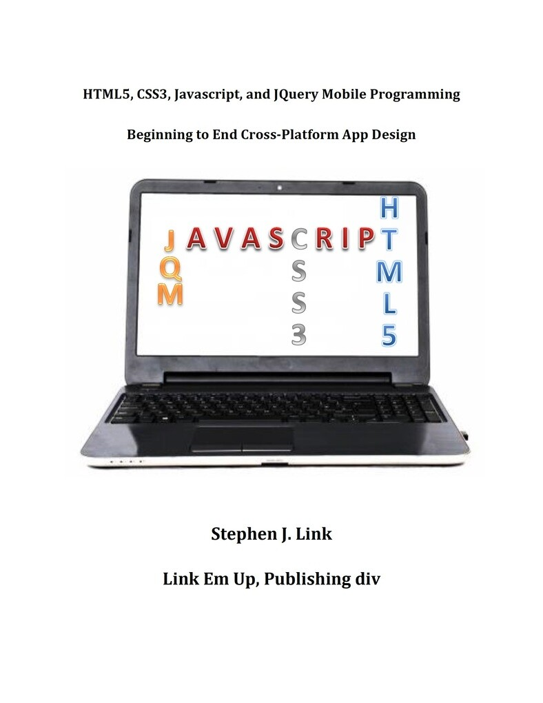 HTML5,CSS3,Javascript and JQuery Mobile Program...