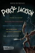 Percy Jackson: Alle fünf Bände der Bestseller-Serie in einer E-Box! (Percy Jackson )