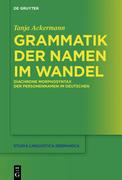 Grammatik der Namen im Wandel