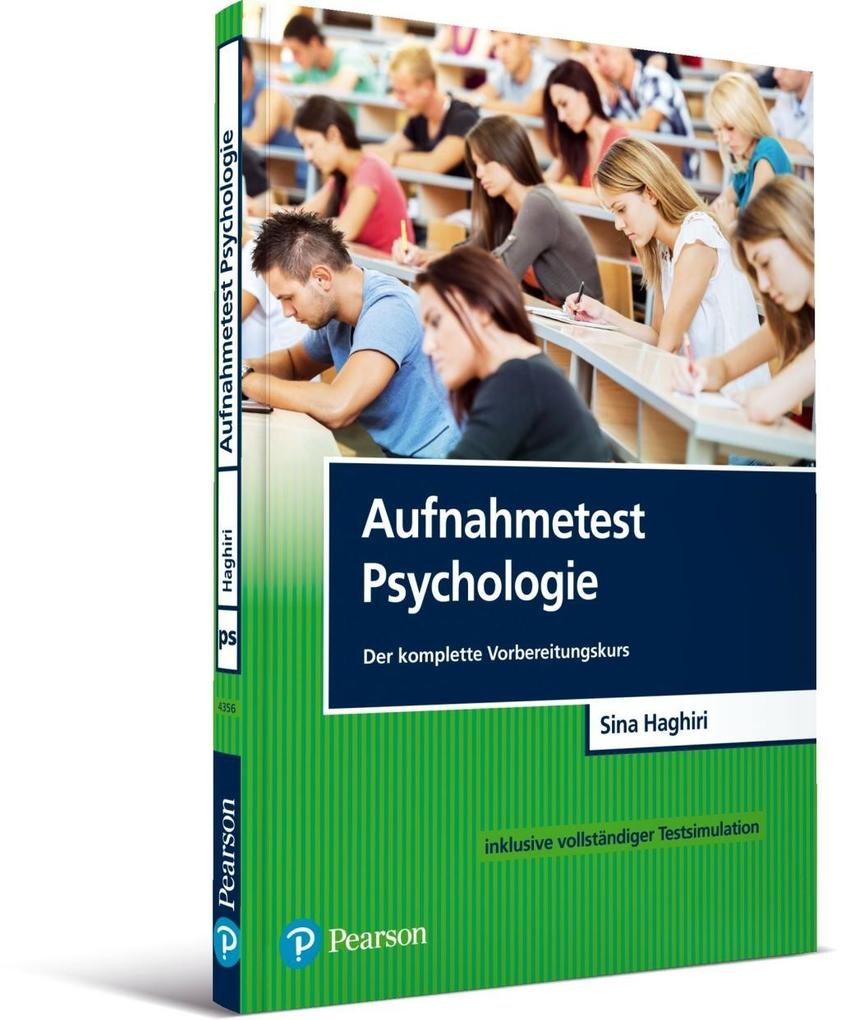 Aufnahmetest Psychologie als Buch von Sina Haghiri