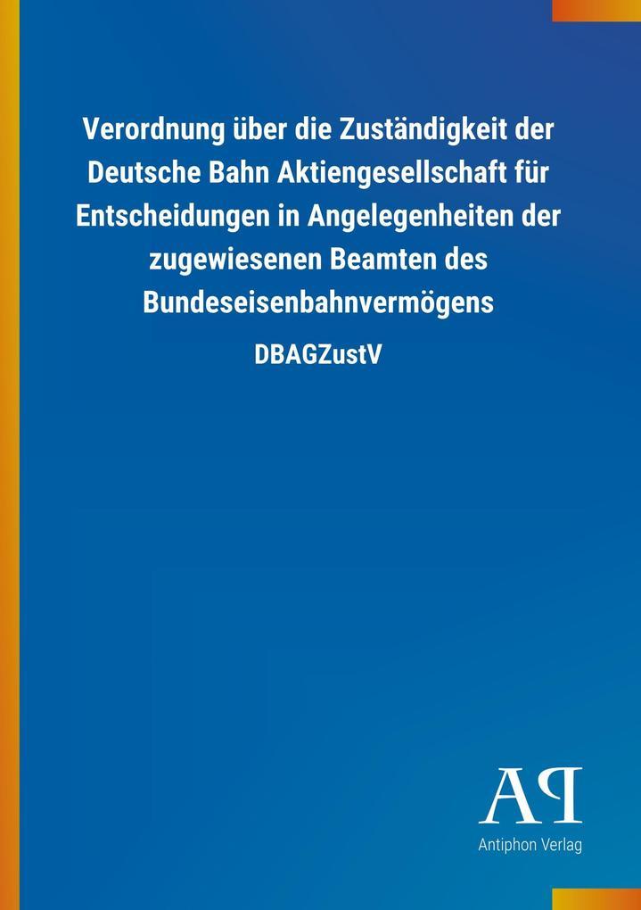 Verordnung über die Zuständigkeit der Deutsche ...