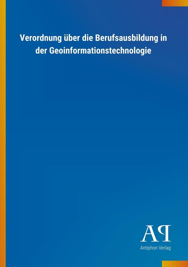 Verordnung über die Berufsausbildung in der Geo...