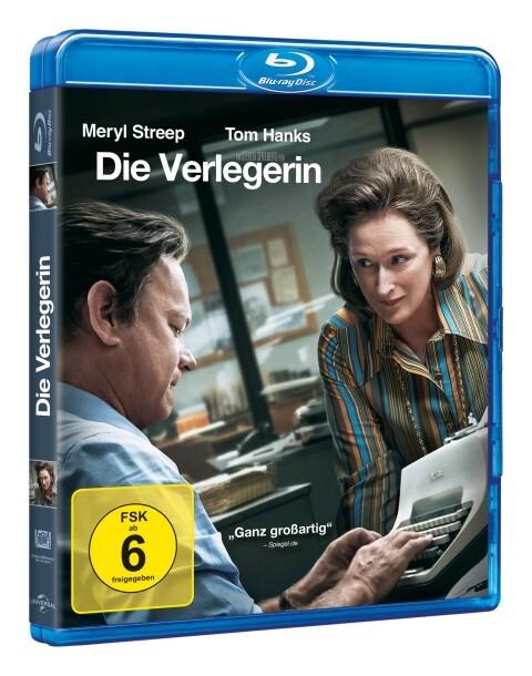 Die Verlegerin als DVD