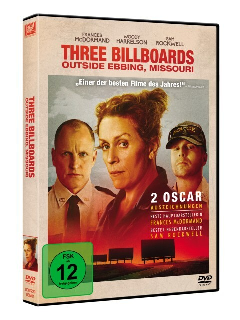 Three Billboards Outside Ebbing, Missouri als DVD