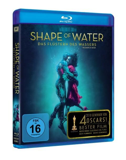 Shape of Water: Das Flüstern des Wassers als DVD