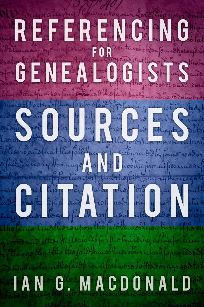 Referencing for Genealogists als eBook Download...