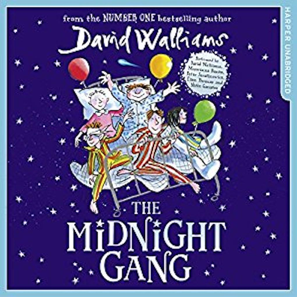 The Midnight Gang als Hörbuch Download von Davi...
