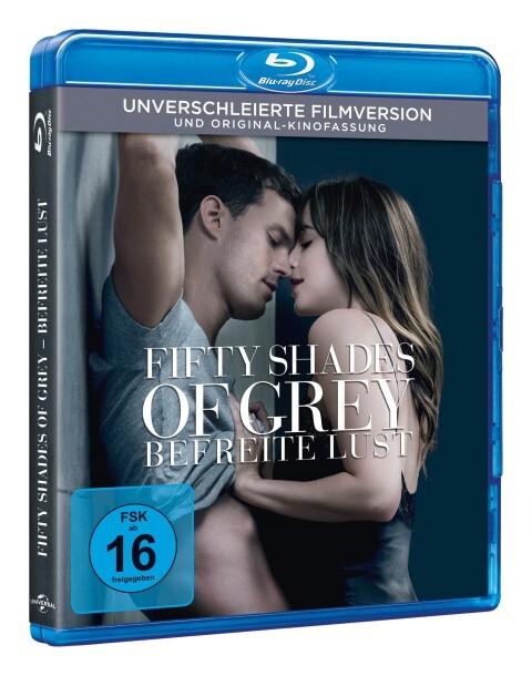 Fifty Shades of Grey 3 - Befreite Lust als DVD