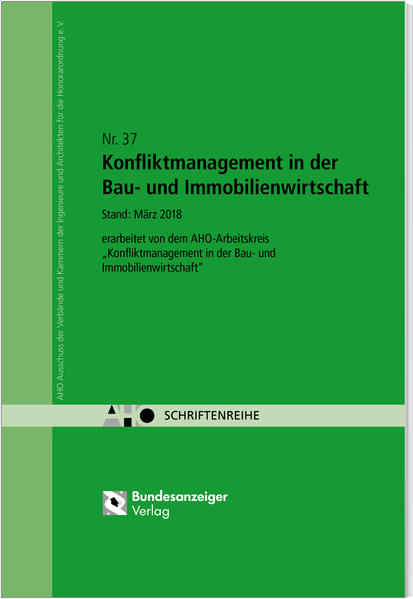 Konfliktmanagement in der Bau- und Immobilienwi...