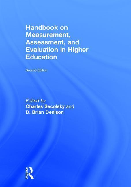 Handbook on Measurement, Assessment, and Evaluation in Higher Education als Buch (gebunden)